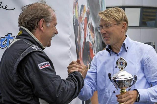 Glückwünsche von Mika Häkkinen