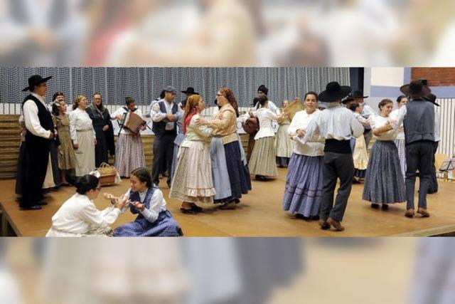 Tanzen und Musik verbindet Menschen aus drei Ländern