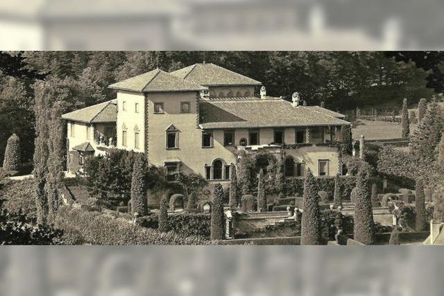 Die Villa Wohlgemuth in Günterstal ist seit 1927 Sitz des Klosters St. Lioba