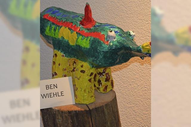 Verrückte Tiere – phantasievolle Kreationen aus Pappmaché