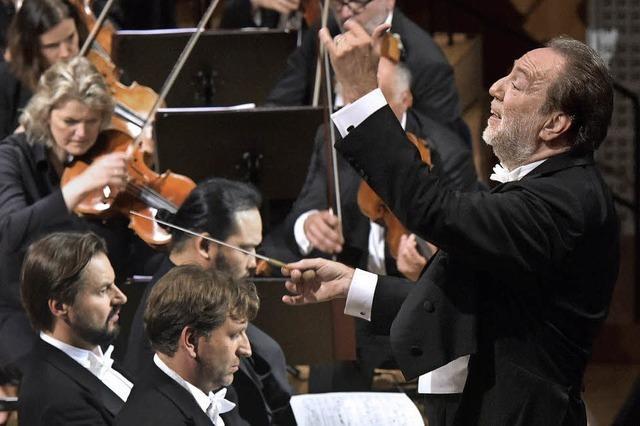 Chefdirigent Riccardo Chailly beim Lucerne Festival