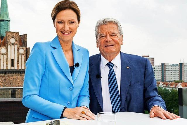 Gauck verteidigt Merkels Flüchtlingspolitik