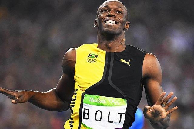 Usain Bolt holt erneut Gold über 100 Meter
