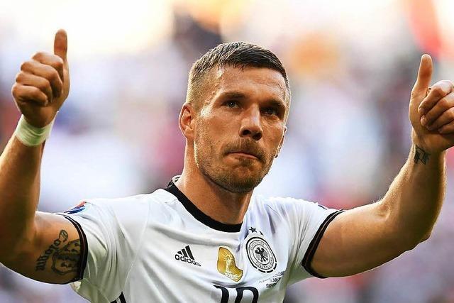 Lukas Podolski spielt nicht mehr für die Nationalelf