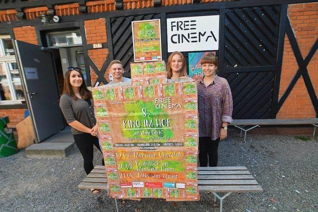 Open Air-Kino am Wochenende