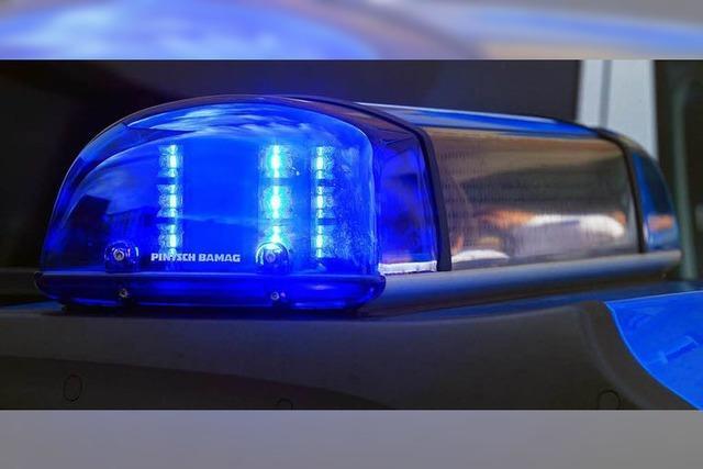 Rettungshubschrauber in Laufenburg geblendet