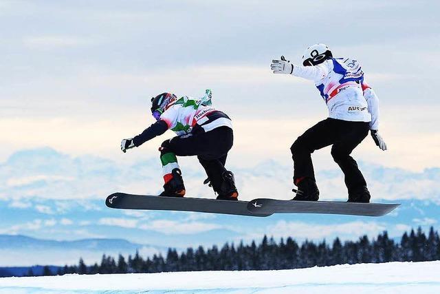 Weltcups für Snowboarder und Skicrosser am Feldberg