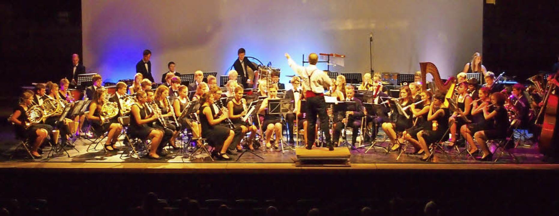 Das Verbandsjugendorchester des Blasmu...r Konzerte im Kreis Waldshut geplant.   | Foto: Ralf Eckert