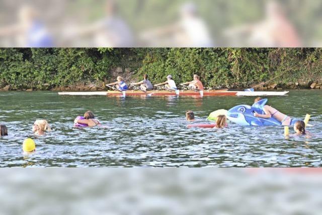 DLRG-Rheinschwimmen ist ein Erfolg