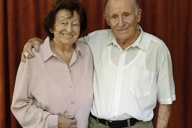 Gerda und Hartwig Lindner aus Kappel sind seit 70. Jahren verheiratet