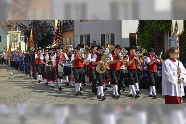 Patroziniumsfest in Kirchhofen