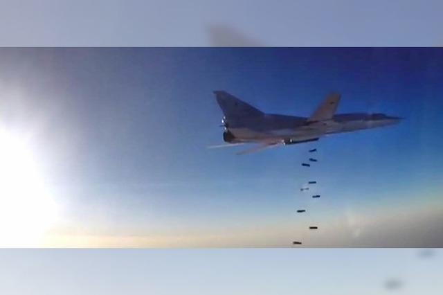 Russen fliegen Angriffe aus dem Iran
