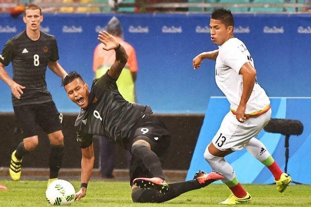 DFB-Auswahl gegen Nigeria: Chance aufs Olympia-Finale