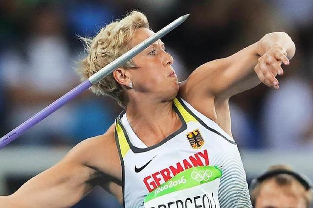 Christina Obergföll: Ortenauerin steht im Speerwurf-Finale