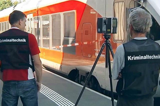 Spurensuche nach dem Attentat in Schweizer Regio-Zug