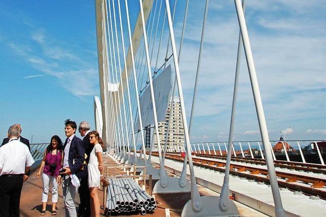 Neue Tram, neue Brücke: Kehl und Straßburg wachsen zusammen und verändern sich