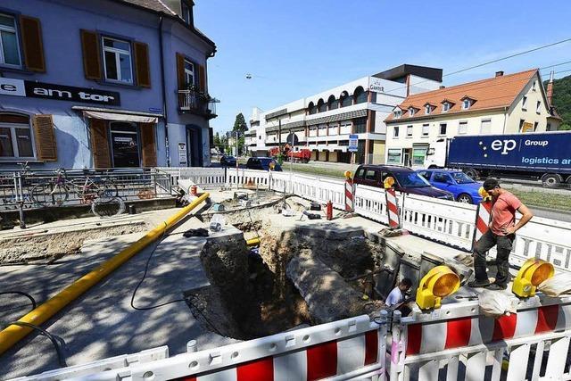 Freiburger Baustellensommer nervt viele Autofahrer