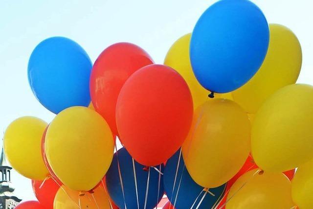 Luftballons sind
