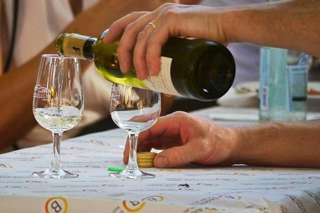 Das Breisacher Weinfest beginnt – über 350 Tropfen stehen zur Auswahl