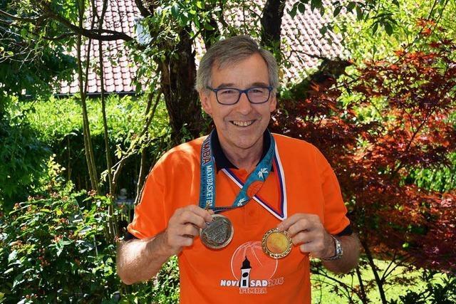 Jörg Graf aus Schallstadt ist Basketball-Europameister der Ü-65-Herren