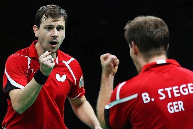 Deutschlands Tischtennis-Männer holen Bronze