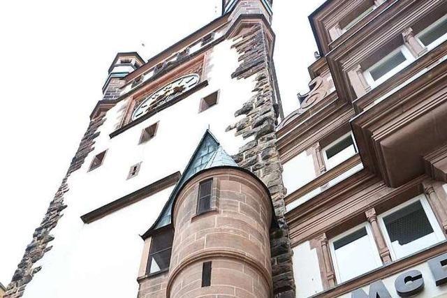 So sieht das Freiburger Martinstor von innen aus