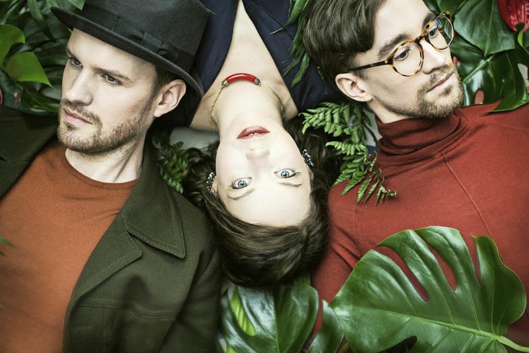 Martin Bach, Magdalena Ganter  und Simon Steger (von links) sind Mockemalör  | Foto: Sandra Ludewig