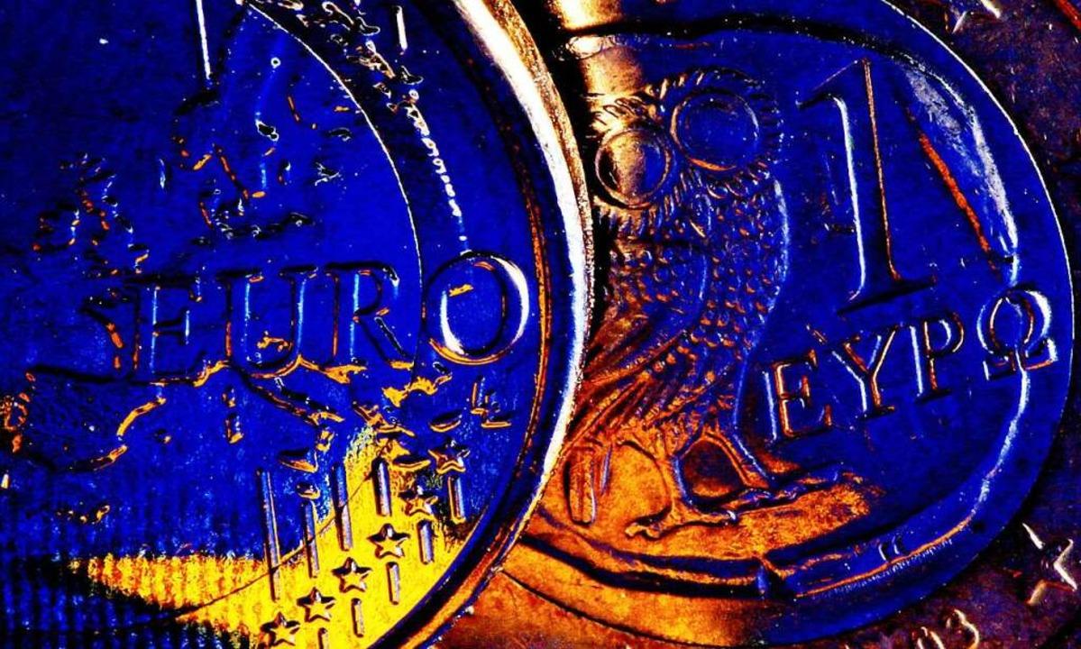 Die Eurozone als Ganzes ist noch nicht aus der Krise.  | Foto: dpa