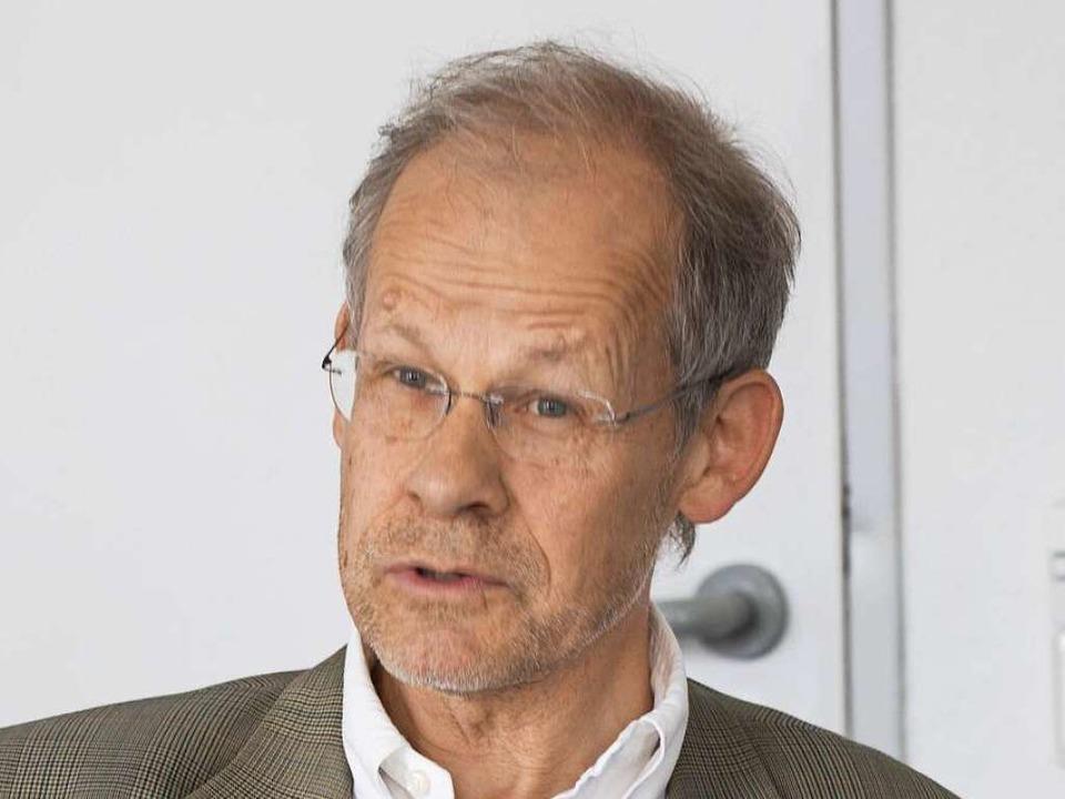 Oliver Landmann  | Foto: Regula Wolf