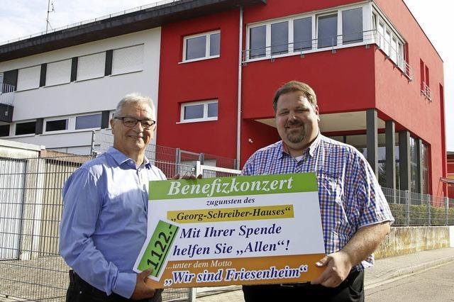 Spende für Georg-Schreiber-Haus