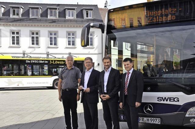 Mit dem Bus komfortabel zum Arbeitsplatz