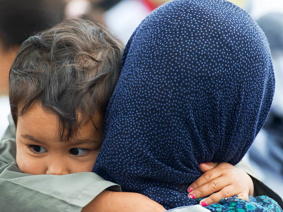 Den Schutzsuchenden  wird geholfen.  | Foto: Patrick Pleul