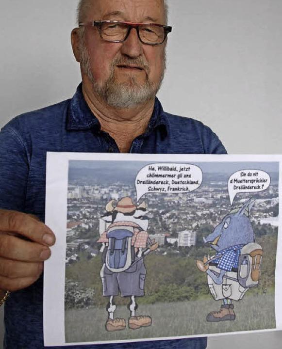 Hans-Peter Kilchling rückt Weil  wieder in den Fokus der Muetterspröchler.   | Foto: Senf