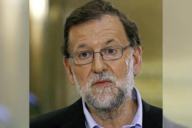 Rajoy fehlen noch sieben Stimmen