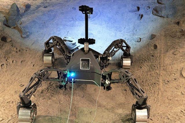 Mond-Roboter aus Bremen, die nicht ins All dürfen