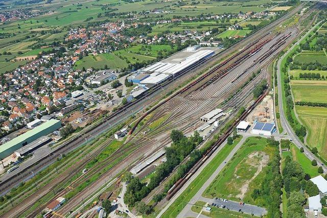 Bahn steckt 25 Millionen in den Offenburger Güterbahnhof