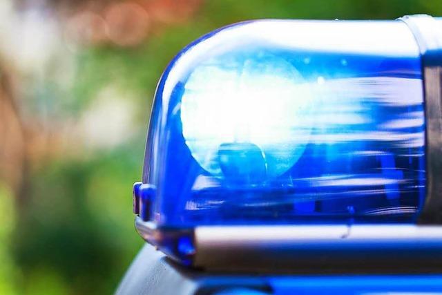 Tödlicher Motorradunfall auf der B 500