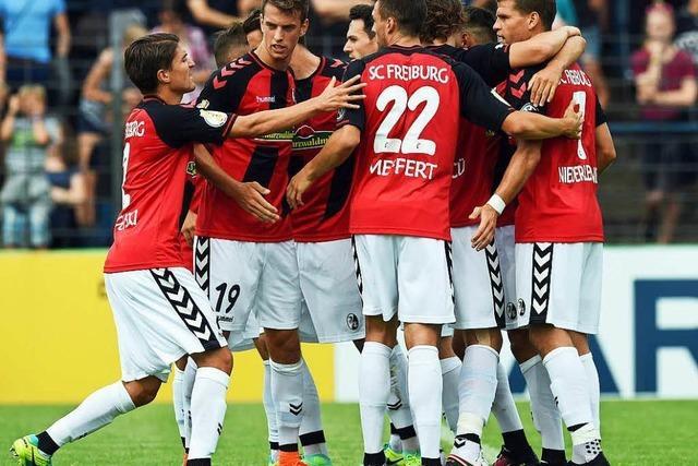 Souverän weiter – SC Freiburg besiegt Babelsberg