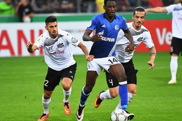 Villingen kassiert nur vier Gegentore von Schalke 04
