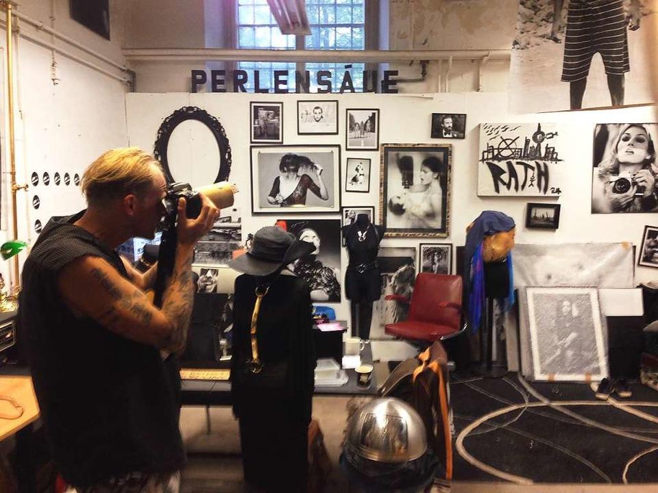 Oliver Rath im Mai 2016 in der Rath Factory in Berlin  | Foto: Markus Hofmann