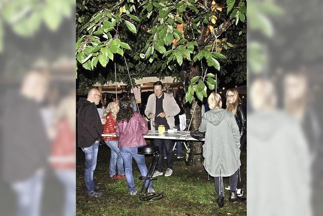 Kurz gemeldet: Weinfest-Idylle pur