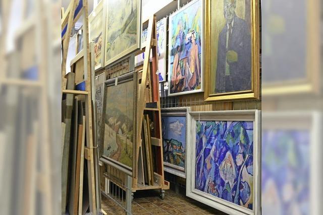 Brandschutz im Museumsdepot unzureichend