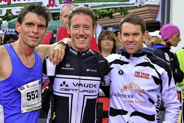 Als Triathleten erfolgreich