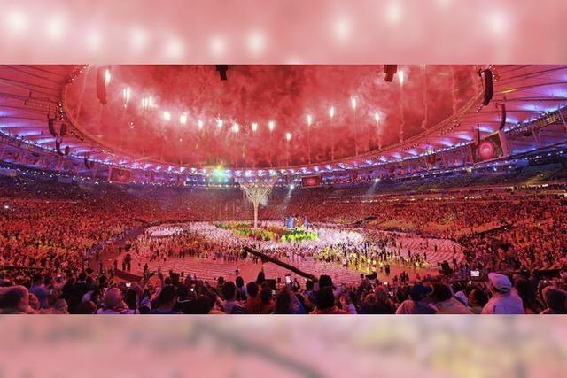 Abschlussfeier der Olympischen Spiele in Rio