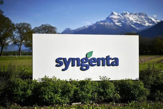 Die USA erlauben China, Syngenta zu kaufen
