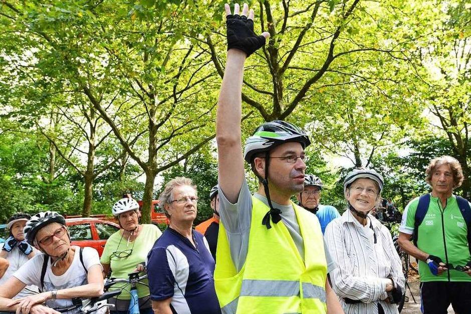 Eine spannende Radtour für BZ-Leser (Foto: Rita Eggstein)
