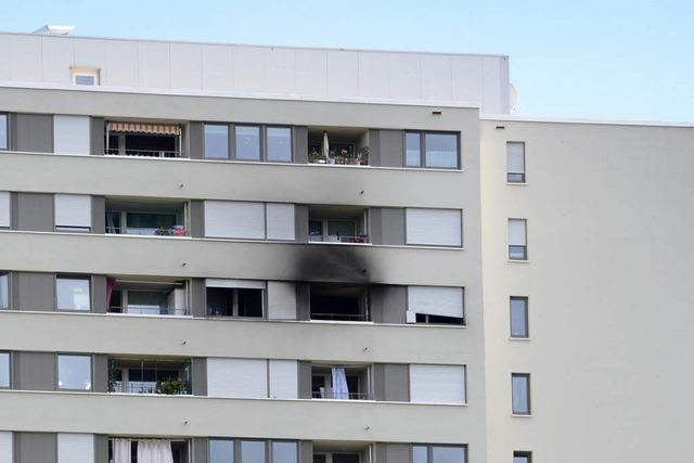 Unachtsamkeit war wahrscheinlich Grund für Hochhausbrand in Weingarten