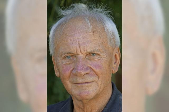 Gebhard Weis ist 80 Jahre alt