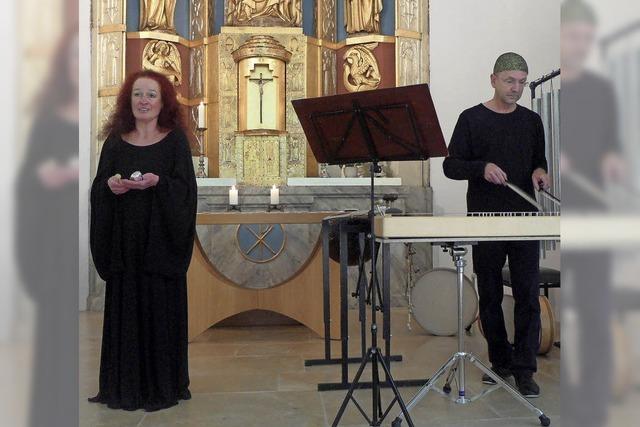 Lupenreiner Sopran, einfühlsames Glockenspiel