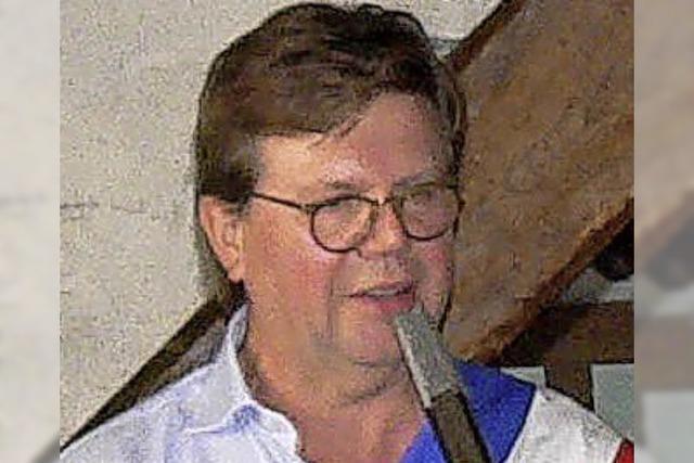 Claus Schleith als Missionar von Tiengen